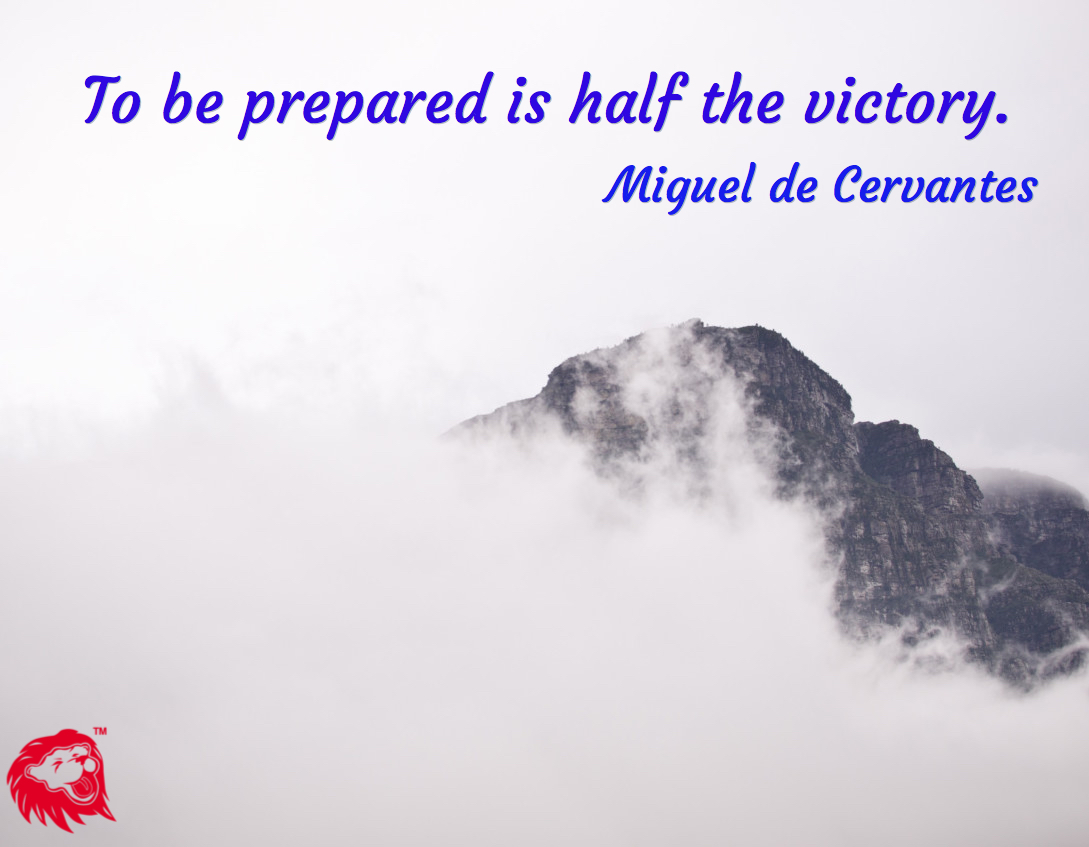 preparation and victory
